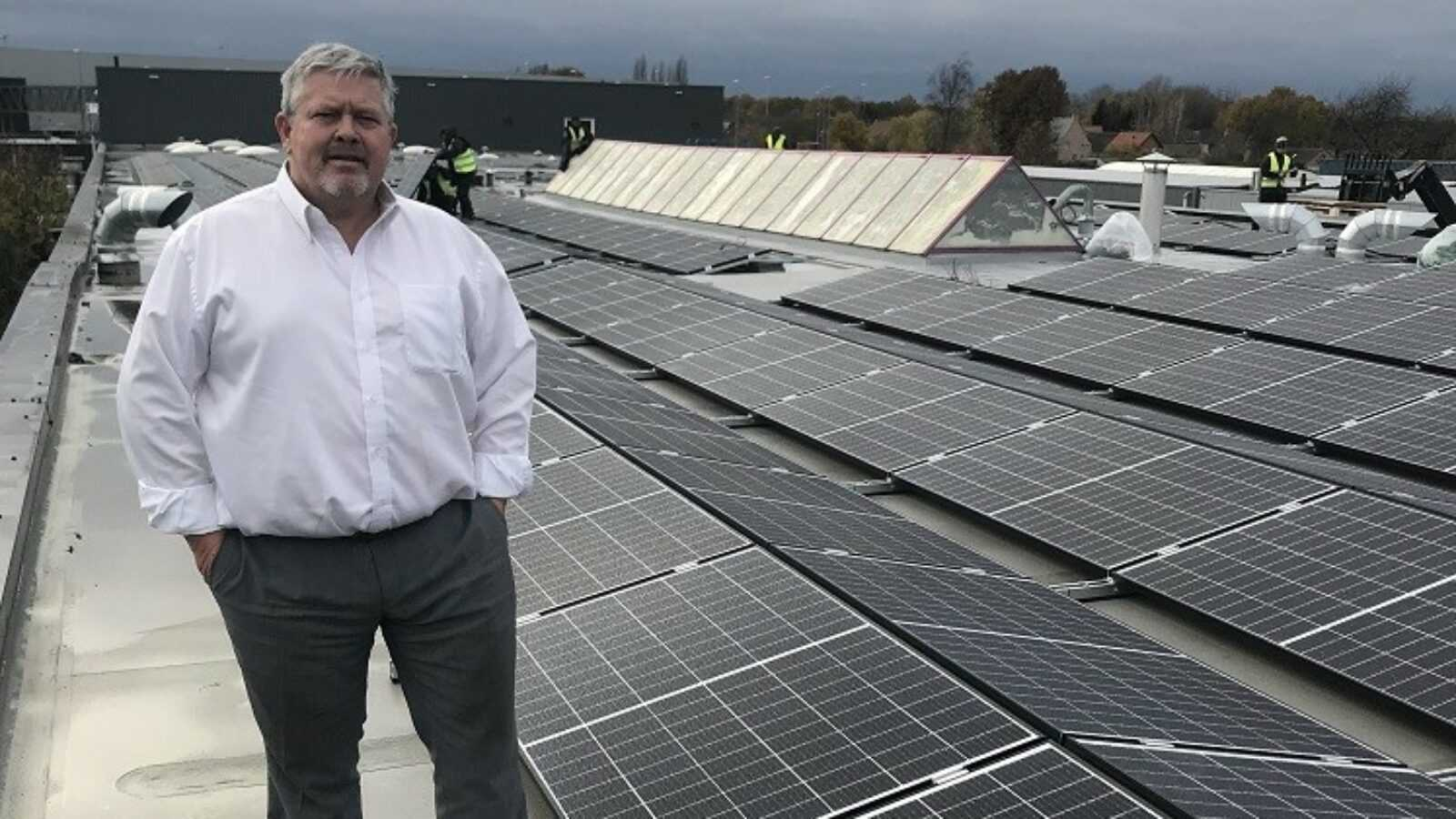 zonnepanelen Codipack Group - Walter Imberechts