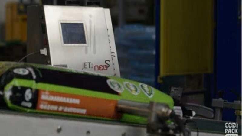 plastic zakken codes aanbrengen inkjet