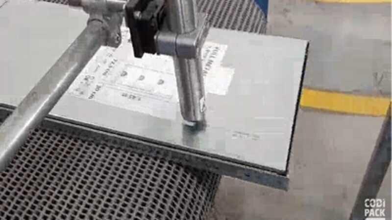 inkjet op metalen platen