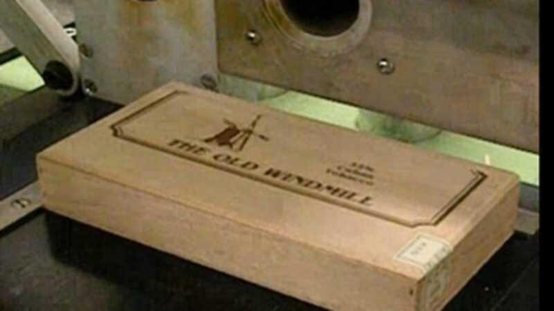 houten kistje laseren