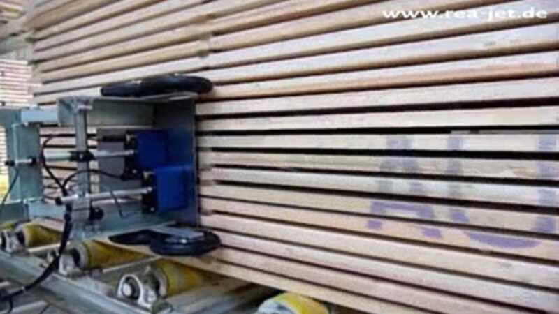 hout bedrukken op pallet