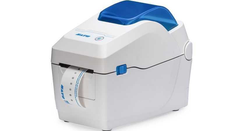 WS2 desktop etiketten en polsbandjesprinter