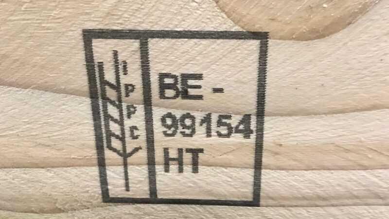 Inkjet op pallet