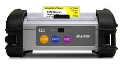 mobiele labelprinter