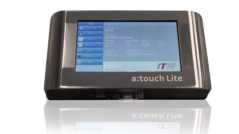 Allen Coding XL5000 touch screen