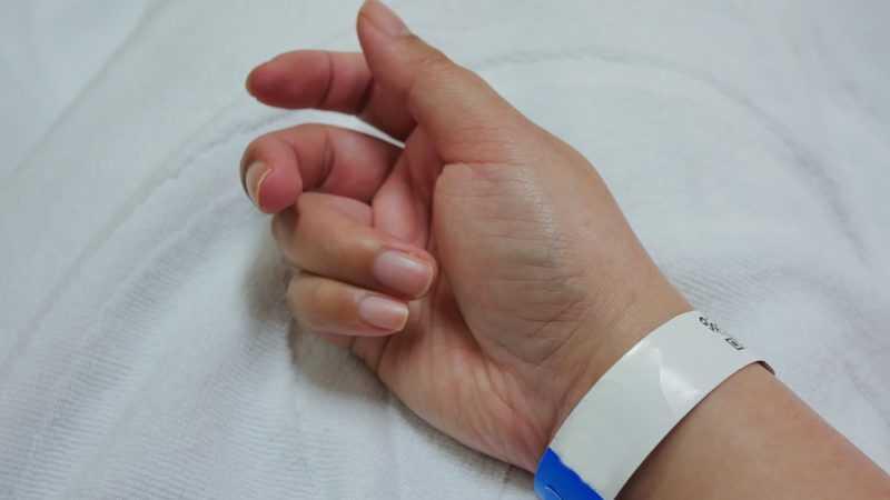 polsbandje patiënt ziekenhuis