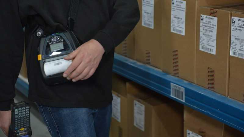 Etiketten voor logistieke sector