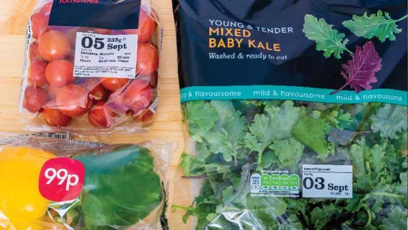 Etiket groenten Codipack