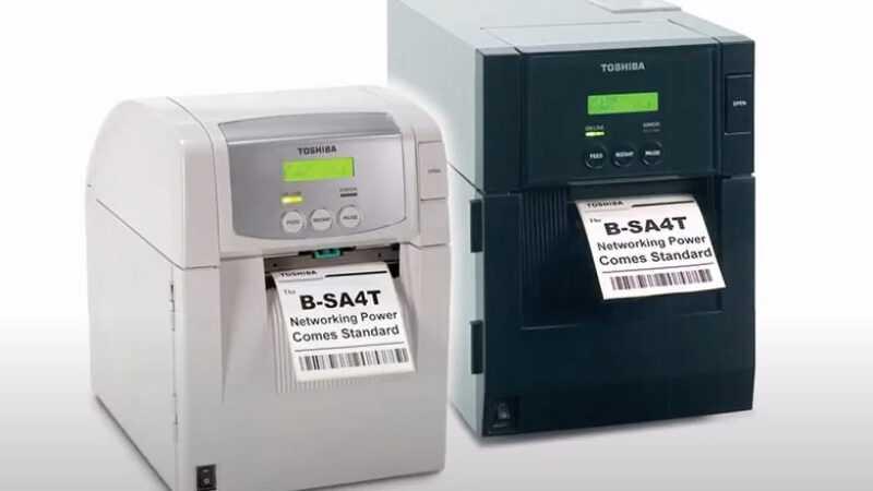 Toshiba labelprinter