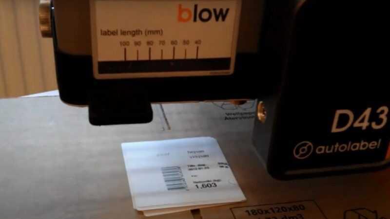Evolabel Blow applicator
