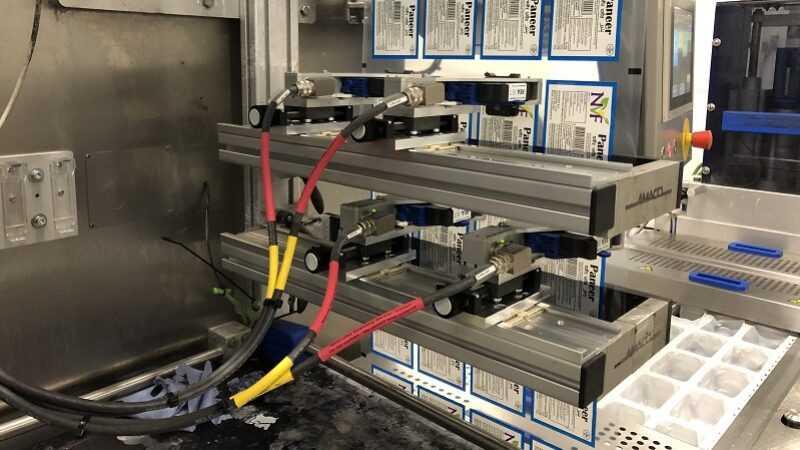 machine installatie bij NVF door Codipack