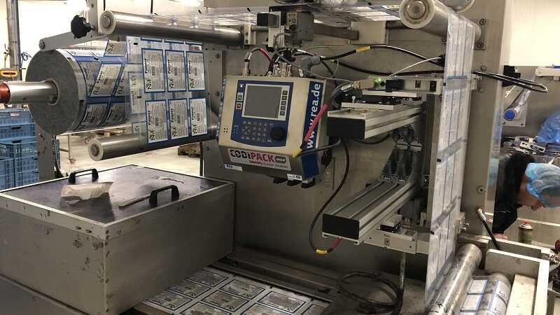 installatie Codipack bij NVF Production
