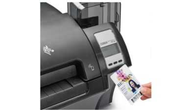 Plastic cards voor printer