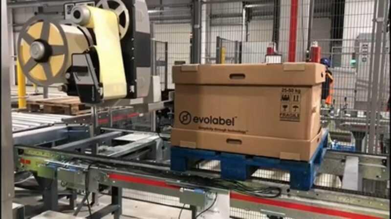 Evolabel palletlabeling flexwipe