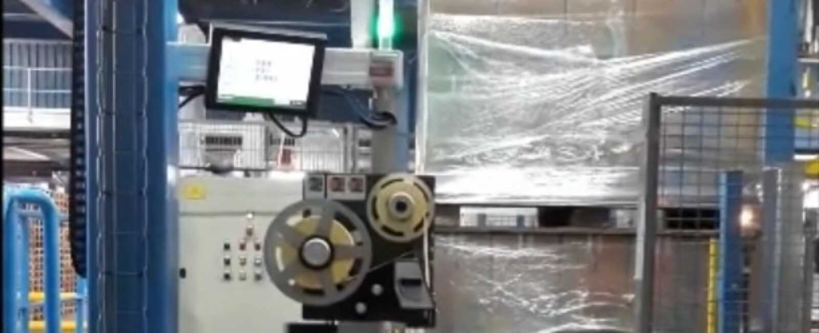 pallet labeling in papier industrie