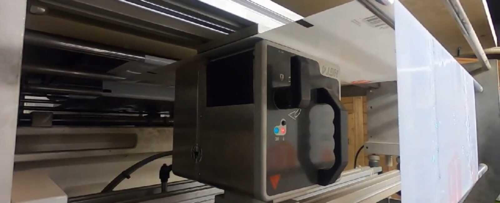 video gegevens printen op plastic zakken