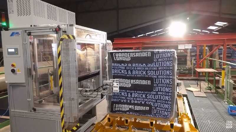 pallet labeling bouwmaterialen