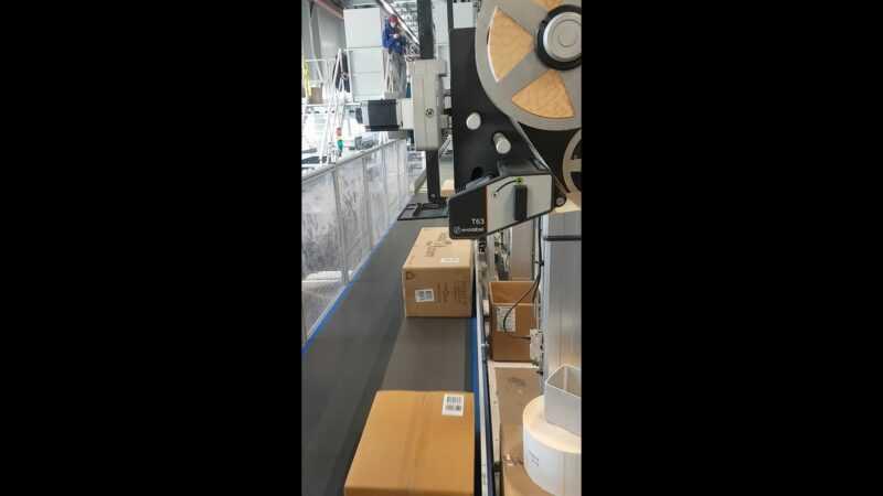 shipping labels aanbrengen