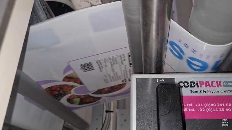 inline printer voedingssector